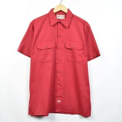 ディッキーズ Dickies 半袖 ワークシャツ メンズM /eaa032230