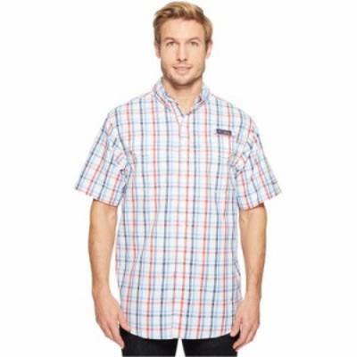 コロンビア 半袖シャツ Super Low Drag Short Sleeve Shirt White Open Check