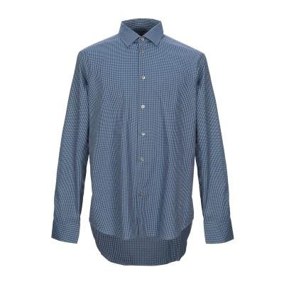 ポール・スミス PAUL SMITH シャツ ブルーグレー 17 ½ コットン 100% シャツ