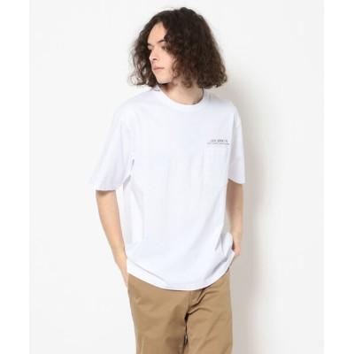 tシャツ Tシャツ ダブル シルケット ルーズフィット Tシャツ /  SS W SILKET LOOSE FIT T-SHIRT / アヴィレックス