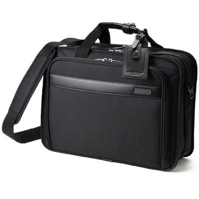 【カバンのセレクション】 バーマス ディグリー ビジネスバッグ 3WAY A4 メンズ ノートPC 出張 自立 大容量 BERMAS 60469 ユニセックス ブラック フリー Bag&Luggage SELECTION