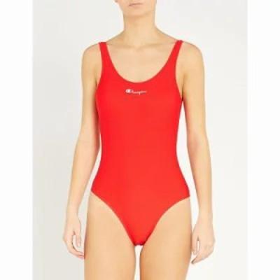 チャンピオン ワンピース scoop-neck swimsuit Red