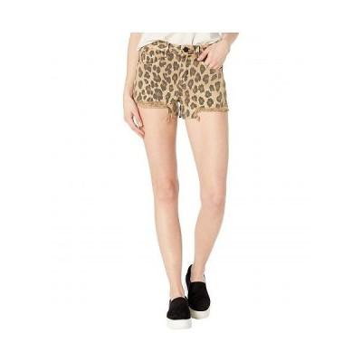 Blank NYC ブランクエヌワイシー レディース 女性用 ファッション ショートパンツ 短パン The Barrow Vintage Leopard Shorts in Stubborn - Stubborn