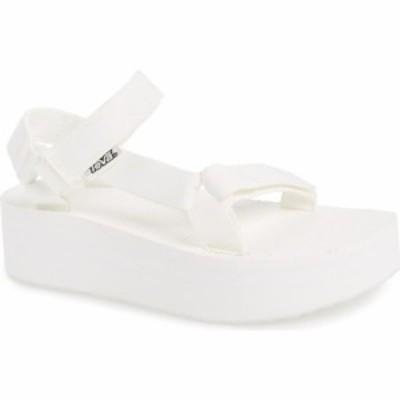 テバ TEVA レディース サンダル・ミュール シューズ・靴 Universal Flatform Sandal Bright White