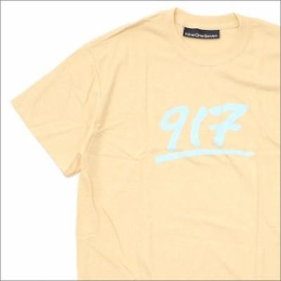 (新品)917(ナインワンセブン)(Nine One Seven) GODFATHER T-SHIRT (Tシャツ) CREME 420-000164-046x【新品】(半袖Tシャツ)