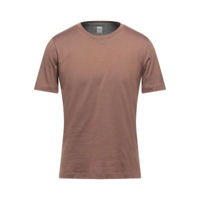 イレブンティ ELEVENTY T シャツ ブラウン XS コットン 100% T シャツ