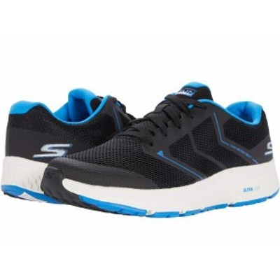 スケッチャーズ メンズ スニーカー シューズ Go Run Consistent - Traceur Black/Blue