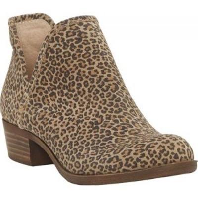 ラッキーブランド Lucky Brand レディース ブーツ シューズ・靴 Baley Bootie Eyelash Sophia Leopard Leather
