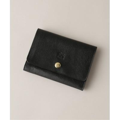 メンズ ジャーナルスタンダード 【IL BISONTE / イルビゾンテ】 CARD CASE 0240 ブラック フリー