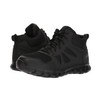 Reebok Work リーボック メンズ 男性用 シューズ 靴 ブーツ 安全靴 ワーカーブーツ Sublite Cushion Tactical Mid - Black
