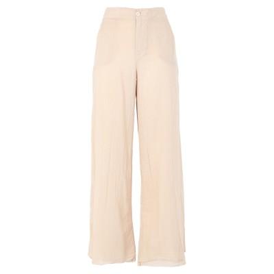 EUROPEAN CULTURE パンツ ベージュ XS コットン 99% / ポリウレタン® 1% パンツ