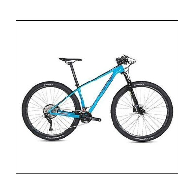STRIKERpro Mountain Bike Series with 27.5/29-Inch Wheels, Carbon Fiber Frame, and Disc Brakes, Great for Trail(Sky Blue),33speed,27.5×15[