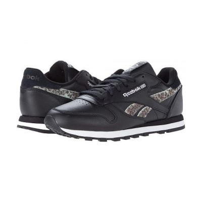 Reebok Lifestyle リーボック レディース 女性用 シューズ 靴 スニーカー 運動靴 Classic Leather - Black/White/Silver Metallic