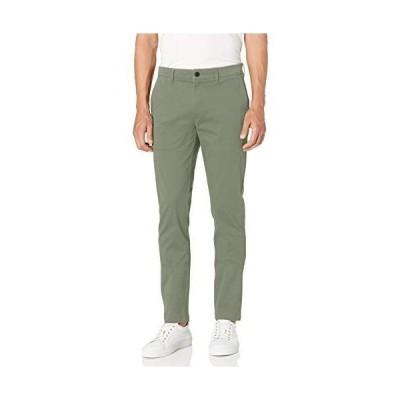[Goodthreads] カジュアルパンツ Skinny-Fit Washed Chino Pant メンズ カーキ W84 / L74