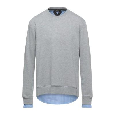 ヌメロ ヴェントゥーノ N°21 スウェットシャツ グレー XS コットン 100% スウェットシャツ