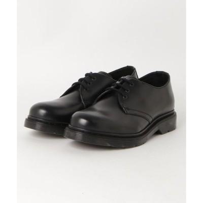 ブーツ HAWKINS ホーキンス 3 EYELET 3アイレット HL50050 BLACK