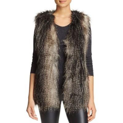 ヴィアスピガ レディース ジャケット・ブルゾン アウター Faux Fur Vest