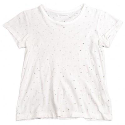 ヨウジヤマモト ファムYohji Yamamoto FEMME クラッシュTシャツ 白2 【レディース】
