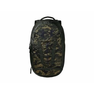 アンダーアーマー バックパック・リュックサック バッグ メンズ Hustle 5.0 Backpack Baroque Green/Black