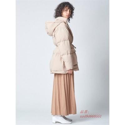 ダウンジャケット 冬服 ドロスト 体型カバー フード付き 厚手 カジュアル暖かい ファー付き レディース アウター ショートコート ゆったり ダウンコート
