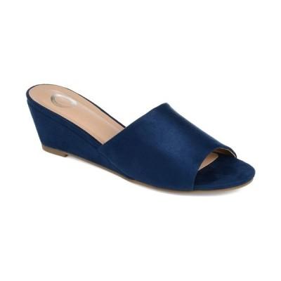 ジャーニーコレクション サンダル シューズ レディース Women's Pavan Slide Blue