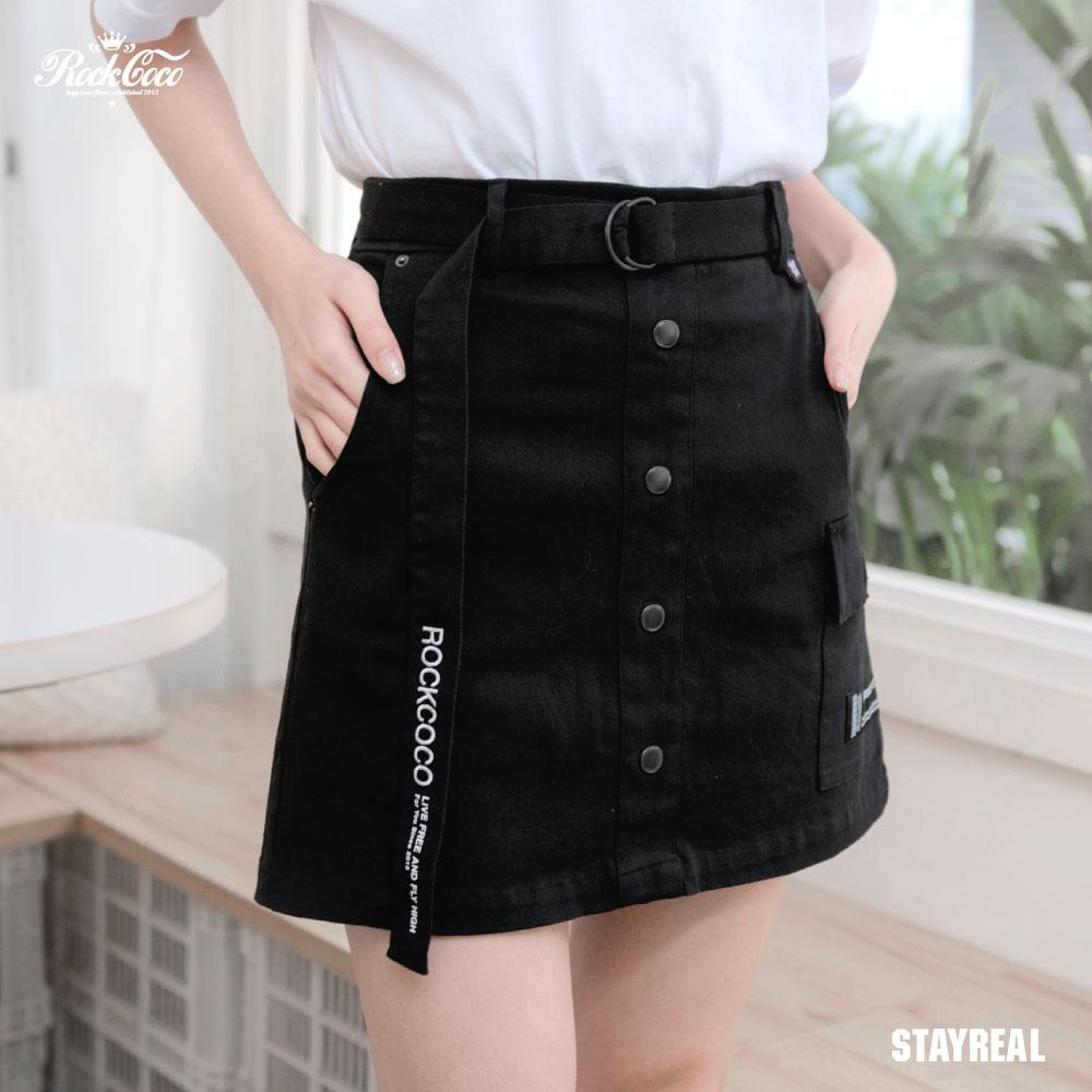 ROCKCOCO 小日子口袋褲裙
