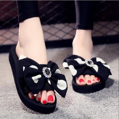 サンダル レディースファッション夏 履きやすい 可愛い花  厚底  歩きやすい おしゃれ 疲れない 靴 シューズ 22.5〜26cm