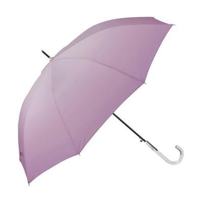 【バックヤードファミリー】 amusant sous la pluie レディース耐風長傘 60cm レディース パープル 長傘60cm BACKYARD FAMILY
