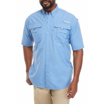 コロンビア メンズ シャツ トップス Big & Tall PFG Bahama II Short Sleeve Shirt Skyler