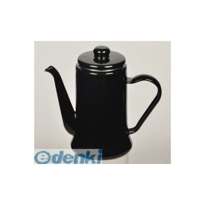 パール金属  HB-2583 カフェテリア ホーローコーヒーポット1.1L(ブラック) HB2583【キャンセル不可】
