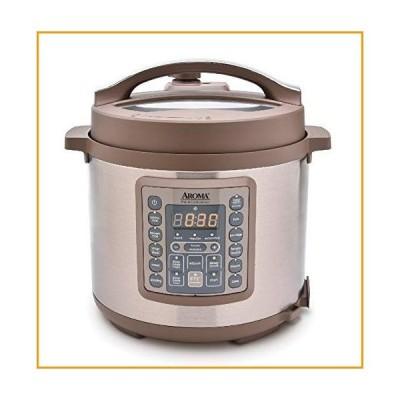 [新品]Aroma Housewares Professional MTC-8016 Digital Pressure Cooker, 6 quart, Brown[並行輸入品]