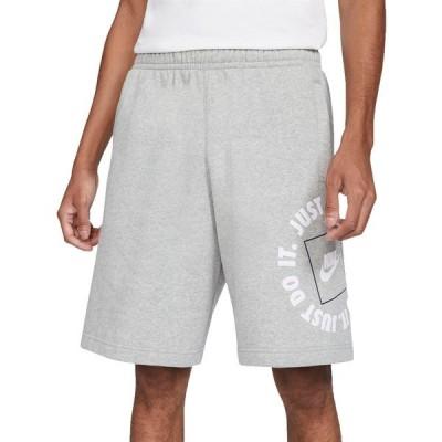 ナイキ カジュアルパンツ ボトムス メンズ Nike Men's Sportswear JDI Fleece Shorts DarkGreyHeather