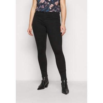オンリー カルマコマ デニムパンツ レディース ボトムス CARFLORIA LIFE  - Jeans Skinny Fit - black