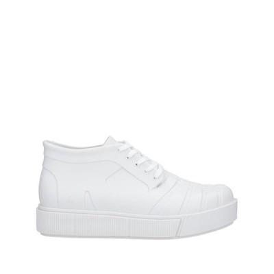 MELISSA スニーカー ファッション  メンズファッション  メンズシューズ、紳士靴  スニーカー ホワイト