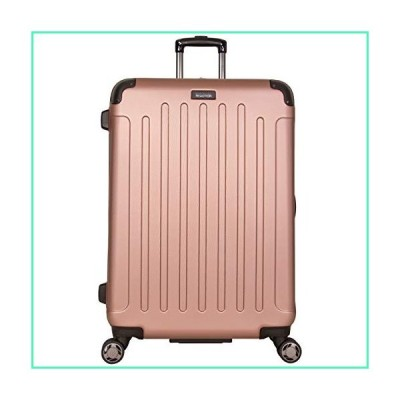 "Kenneth Cole Reaction Renegade 28"" ABS Expandable 8-Wheel Upright, Rose Gold, inch Checked並行輸入品"