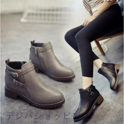 ブーツ レディースブーツ 歩きやすい ブーツ ショートブーツ レディース 厚底 靴 ワークブーツ エンジニアブーツ ブラック 美脚 xt-023