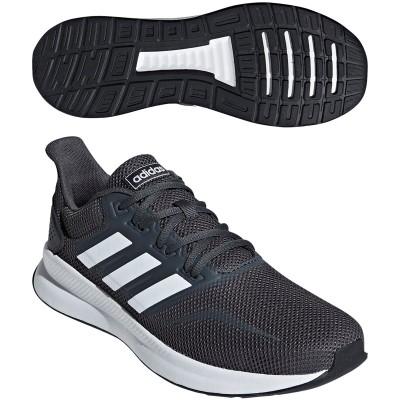 アディダス Adidas FALCONRUN M シューズ 28.5cm グレーシックスS19/ランニングホワイト/コアブラック F36200