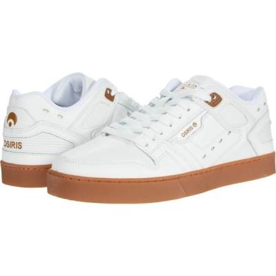 オサイラス Osiris メンズ シューズ・靴 Kicks White