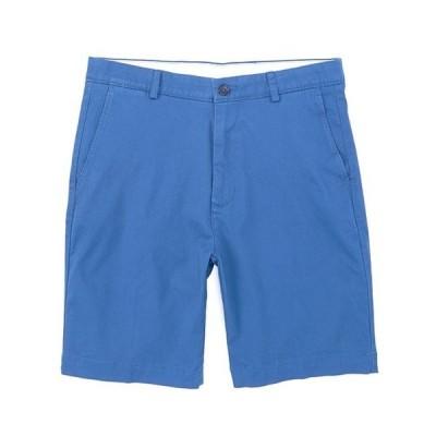 """ラウンドトゥリーアンドヨーク メンズ ハーフパンツ・ショーツ ボトムス Flat Front 9"""" Inseam Washed Cotton Shorts"""