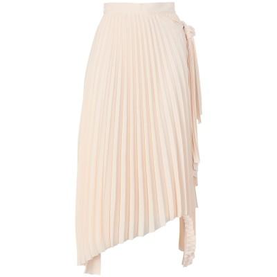 カルバン クライン CALVIN KLEIN ロングスカート ベージュ 34 ポリエステル 100% ロングスカート