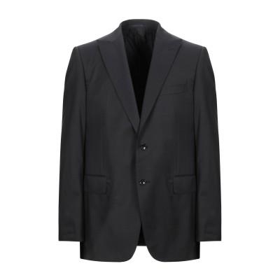 パル ジレリ PAL ZILERI テーラードジャケット ブラック 52 バージンウール 100% テーラードジャケット