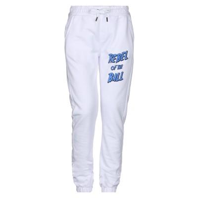 ZOE KARSSEN パンツ ホワイト XS コットン 50% / ポリエステル 50% パンツ