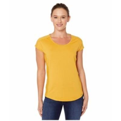 マーモット レディース シャツ トップス Kitsilano Short Sleeve Shirt Yellow Gold