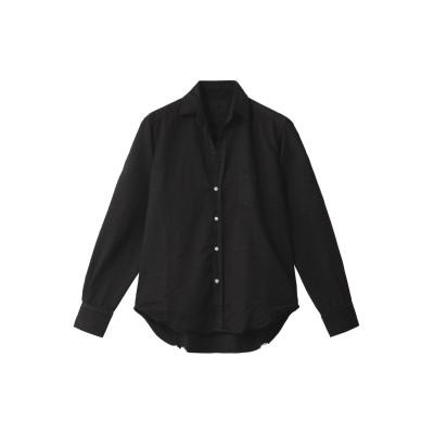 Frank&Eileen フランク&アイリーン EILEEN ストーンウォッシュドインディゴ ブラックシャツ レディース ブラック XS