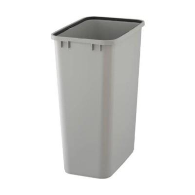 リス ゴミ箱 『使い易い角型ゴミ容器』 ベルク90S 90L用 本体 ライトグレー (グレー 90L)