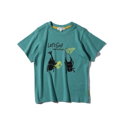 【シューラルー/SHOO・LA・RUE】 【90-120cm】ひんやり昆虫キッズTシャツ