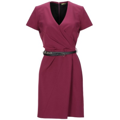 VERSACE JEANS ミニワンピース&ドレス ガーネット 36 ポリエステル 90% / ポリウレタン 10% ミニワンピース&ドレス