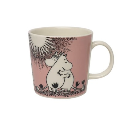 アラビア ムーミン マグ フィンランド  マグカップ (moomin)  ピンク LOVE Arabia arb01-c009