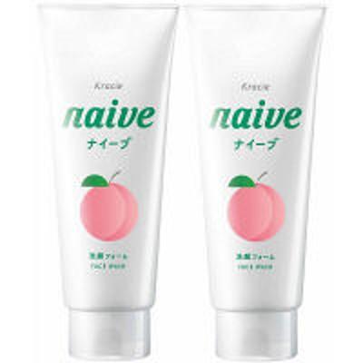 クラシエホームプロダクツナイーブ 洗顔フォーム 桃の葉エキス配合 130g 1セット(2個) クラシエホームプロダクツ