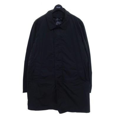 【1月28日値下】MONCLER ダウンライナー付ステンカラーコート ブラック サイズ:5 (京都店)